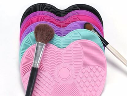 Silicon Makeup Brush Cleaning Mat